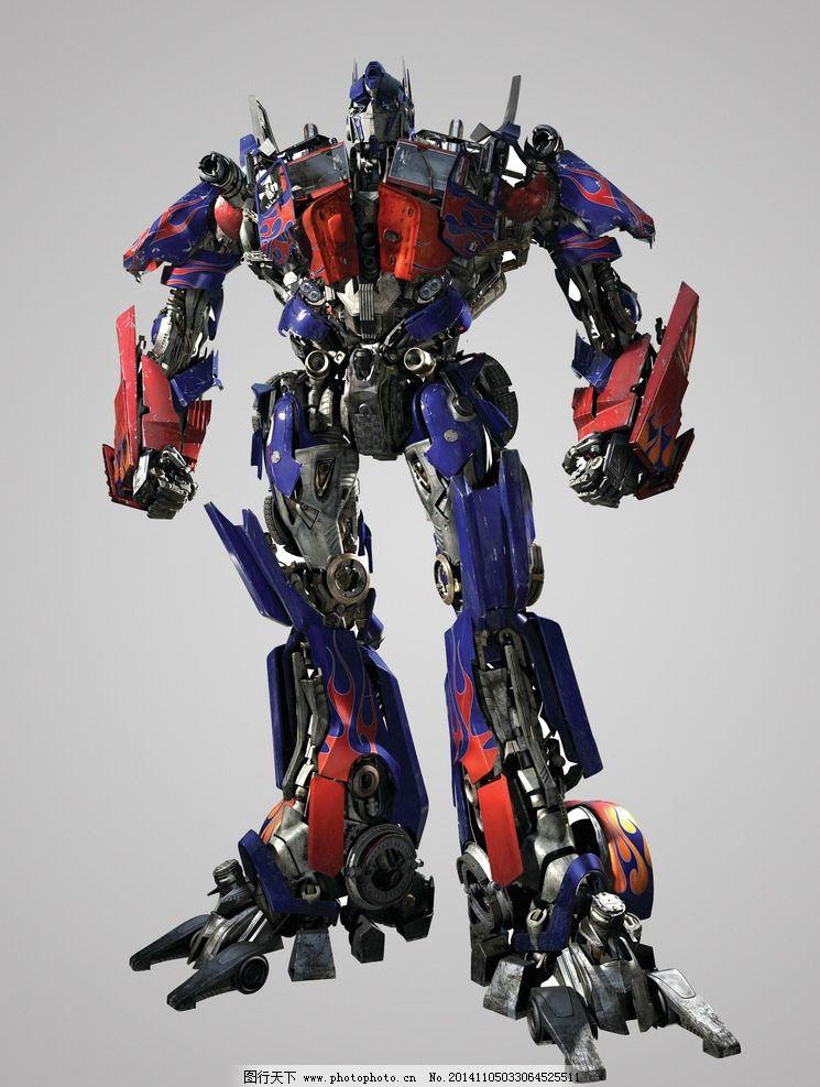 擎天柱 变形金刚 机器人 电影人物 psd 源文件 超清晰 设计 psd分层