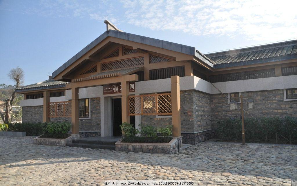 新中式公共建筑入口