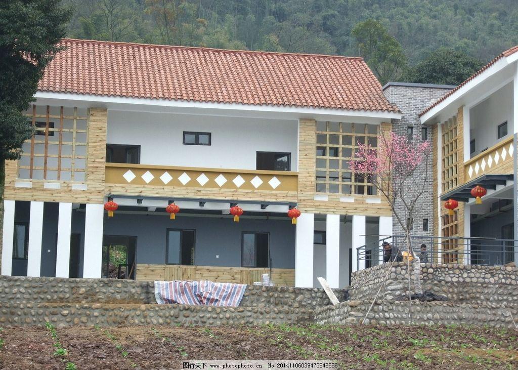 新农村 高何镇 周河碥 别墅 灾后重建 房屋 建筑 农村景观 摄影