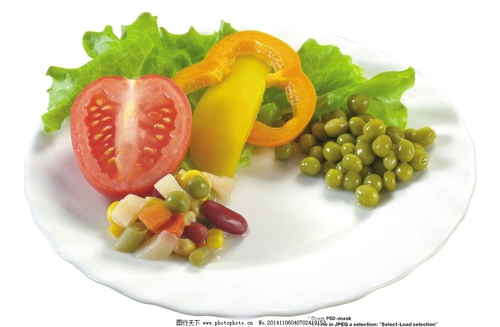 蔬菜拼盘 蔬菜沙拉 水果蔬菜 沙拉拼盘 西餐美食 食物 摄影