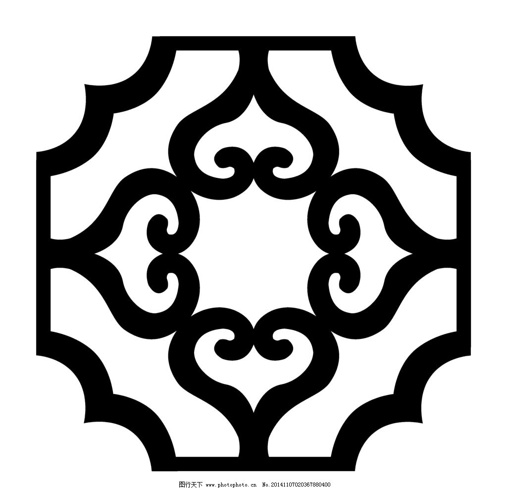 花形 花边 花角 镂空 底纹 古纹 设计 底纹边框 花边花纹 236dpi bmp