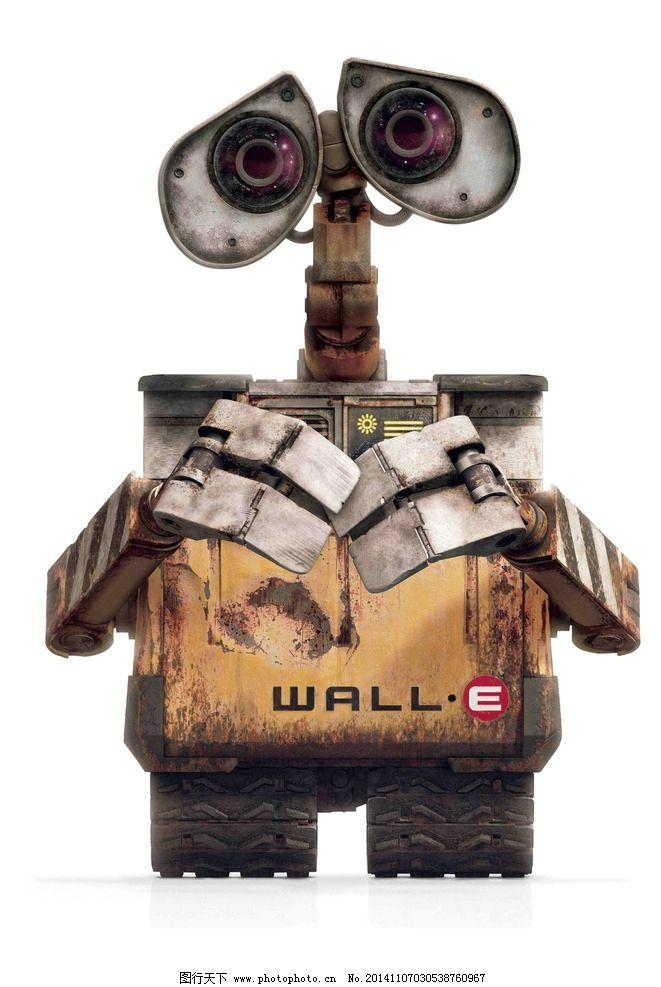 瓦力 机器人总动员 迪斯尼 伊娃 动画电影 电影海报 海报设计
