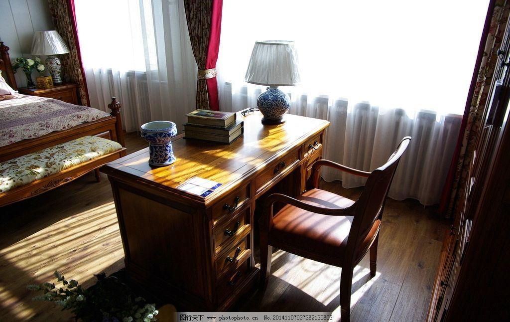 室内装修 欧式 办公桌 地板 室内 家居设计 摄影 生活百科 家居生活