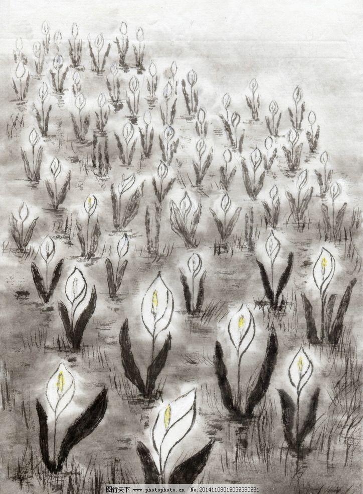 中国水墨画 水墨 中国国画 风景 画家 古画 水墨风景 画画 素描 设计