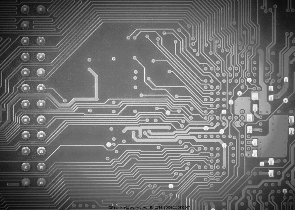 科技背景 科技图片 灰色背景图 时尚底纹 电子背景 电路版 设计 底纹