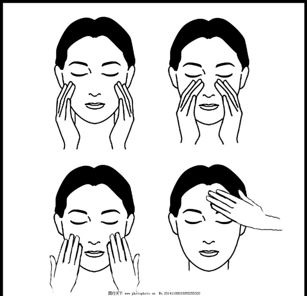 化妆品专业使用步骤图片