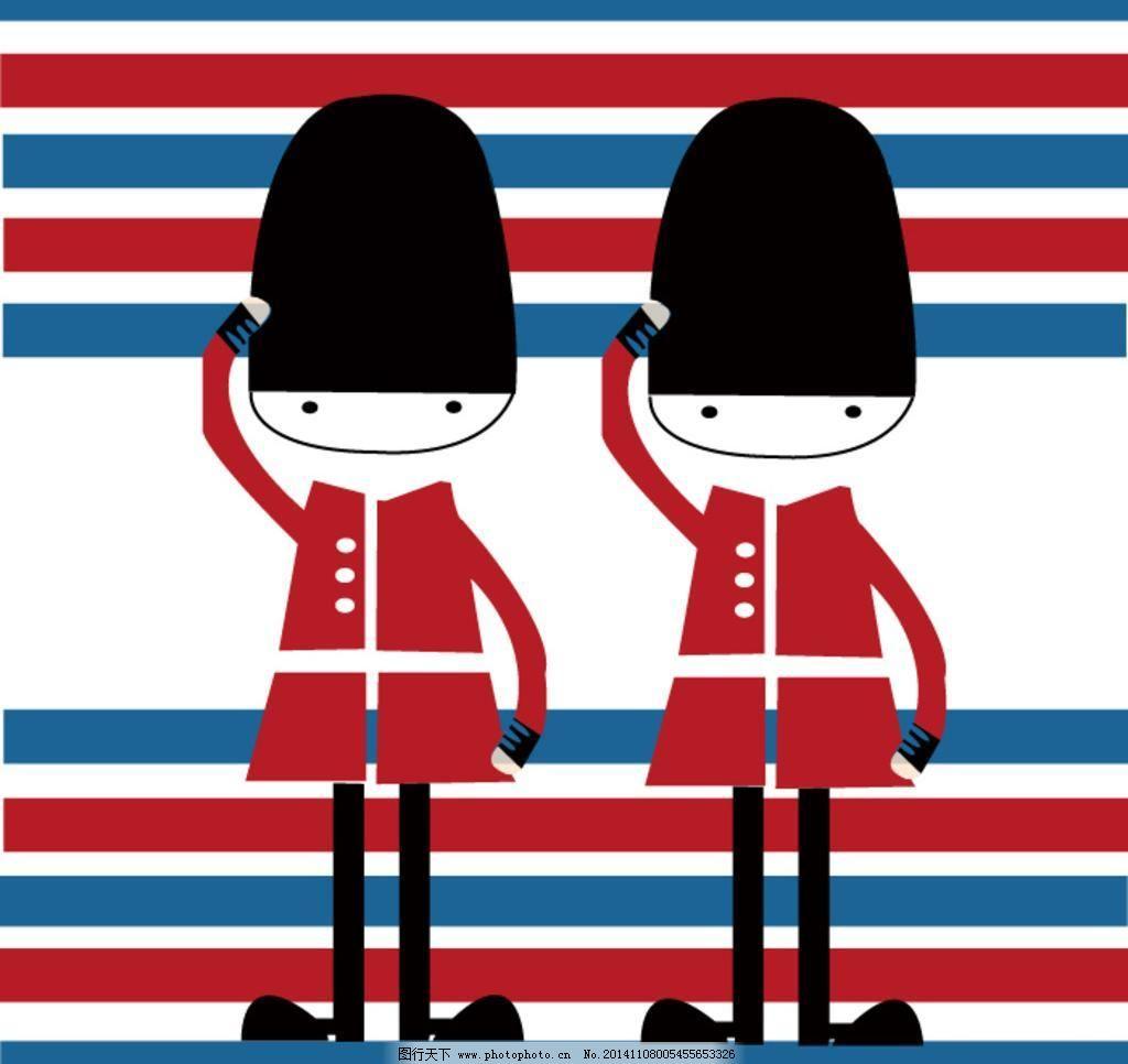 卡通图案 民族风 欧洲风格 设计 图案 卡通图案 欧洲风格 图案 英国风