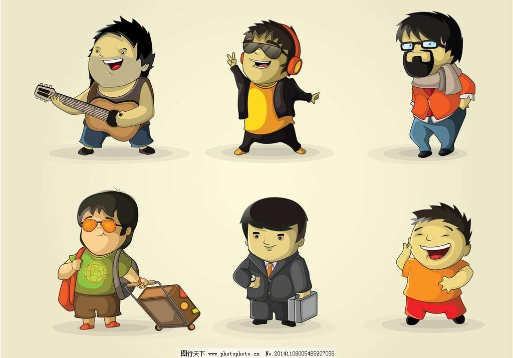 广告设计 卡通动画 卡通动漫 卡通男孩 卡通人物 卡通设计 卡通形象