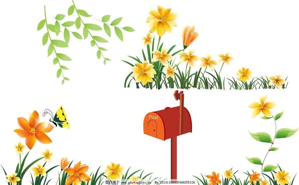幼儿园门口花朵装饰图片