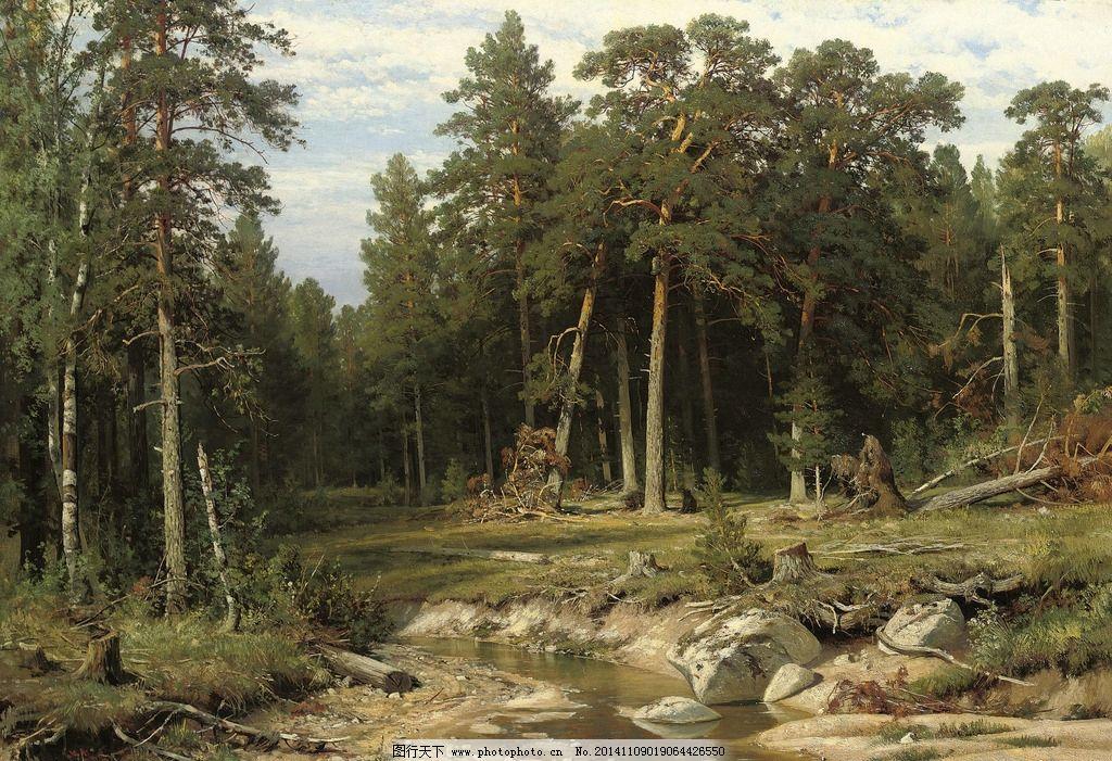 自然之美,藏地之恋 油画欣赏