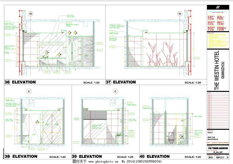 酒店图纸建筑cad素材,建筑图纸图纸下载布置3.35隔间炼金图片