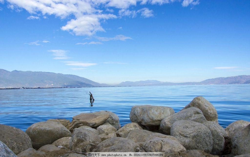 海边鹅卵石