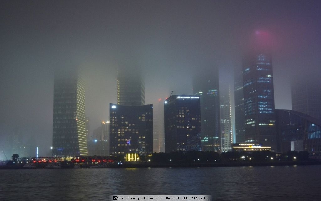 东方明珠夜景图片_国内旅游