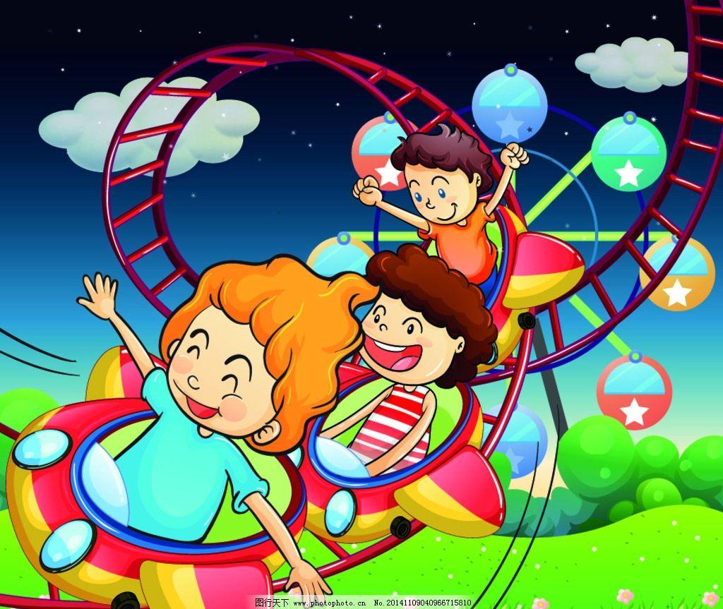 小朋友 卡通女孩 手绘 卡通插画 幼儿绘画 设计 设计 人物图库 儿童