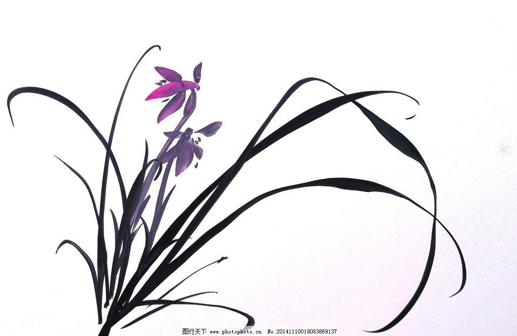 聚马凉石 凉马 字画 书法 水墨 国画 兰花 设计 文化艺术 绘画书法 72