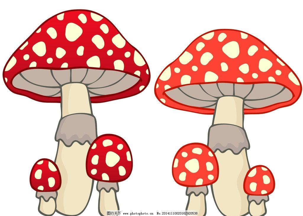 漂亮蘑菇卡通图片大全
