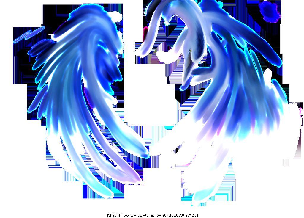 抽象天鹅png