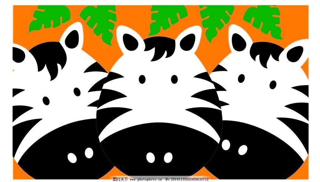 龙猫 龙猫免费下载 广告设计 卡通设计 绿叶 多只 笔袋 矢量图