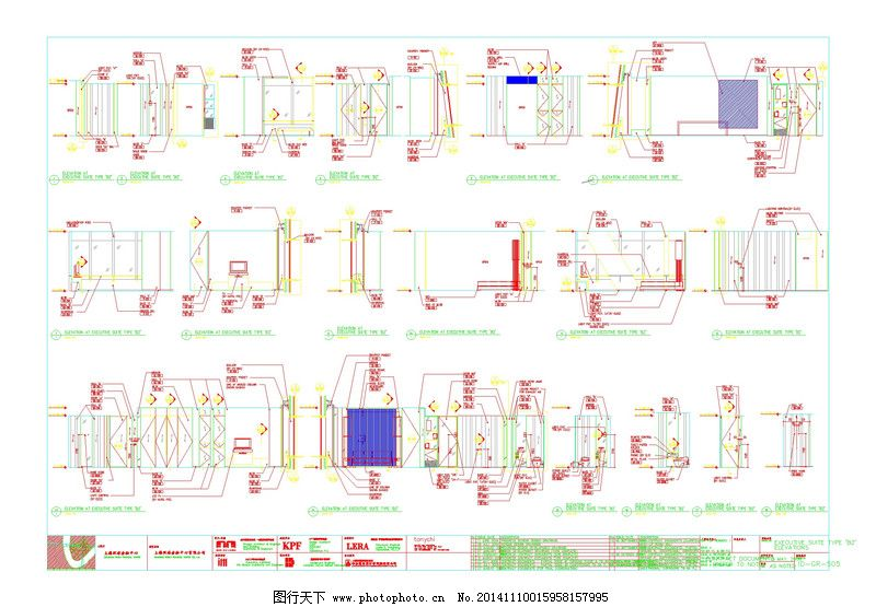 酒店客房平面布局cad图纸 (800x555)-设计简介 在客房标准层半层的