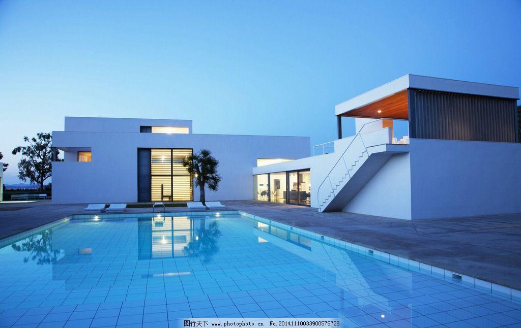 游泳池 别墅图片