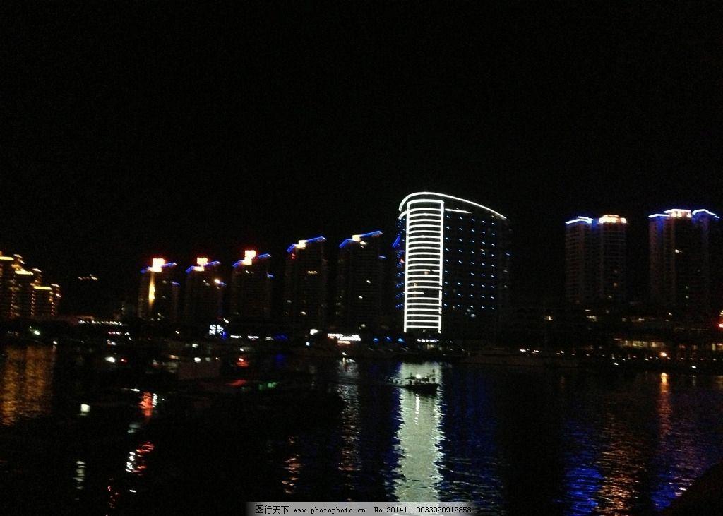 海南三亚夜景图片