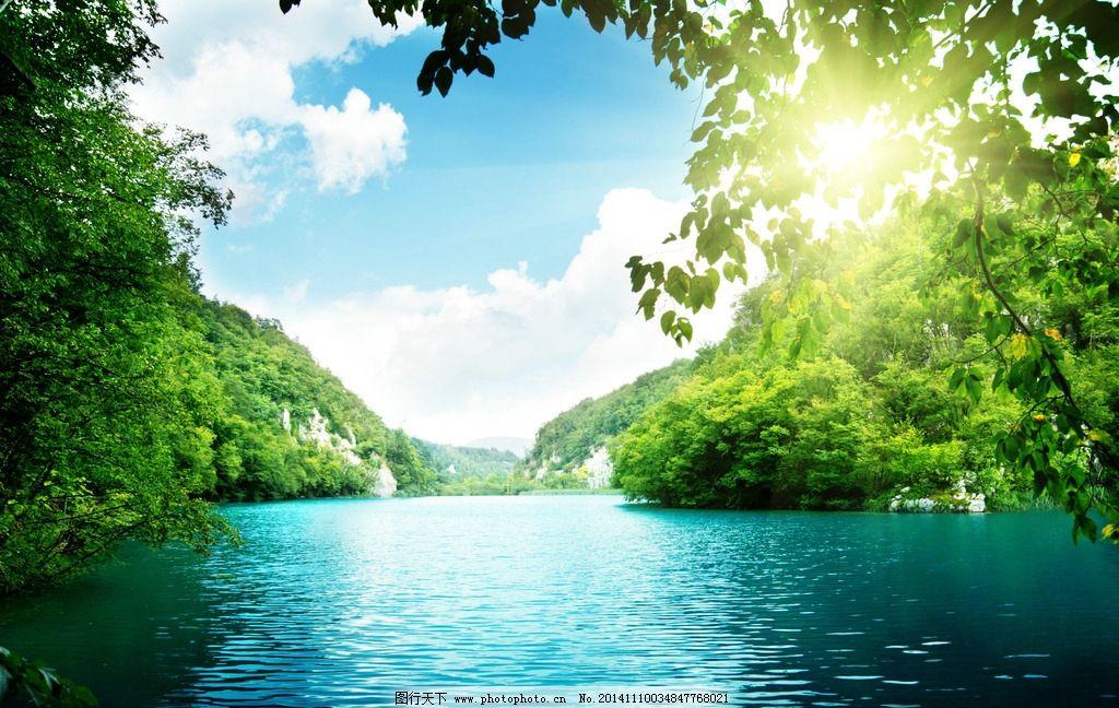青山绿水 阳光 蓝天 白云 沙滩 海滩 大海 海边 唯美 摄影