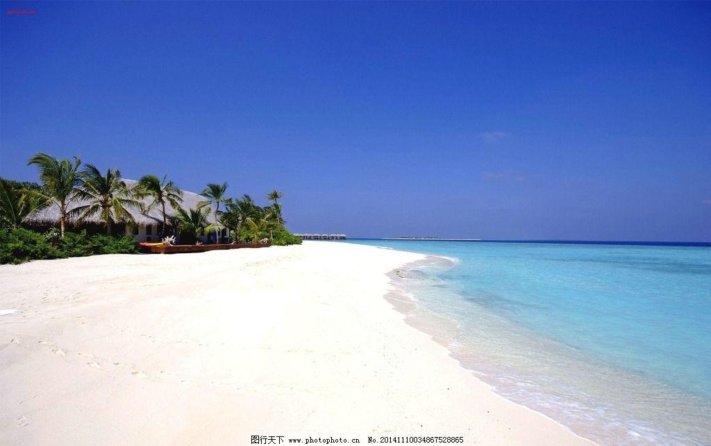 海岛沙滩图片