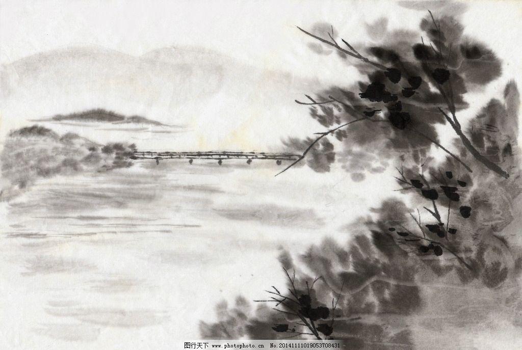 水墨 中国国画 风景 画家