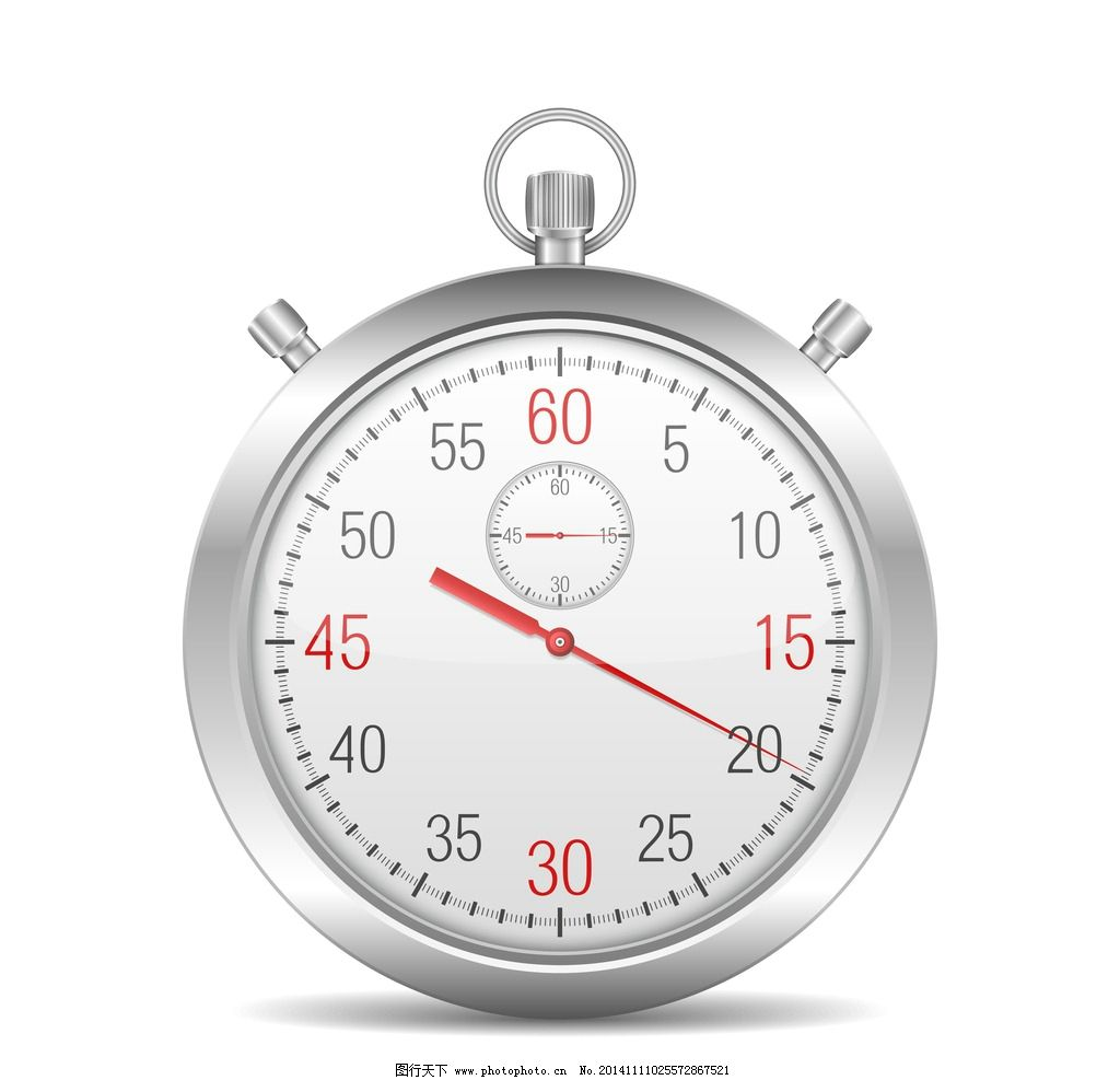 秒表 刻度 手绘 倒时计 时间 钟表 矢量素材