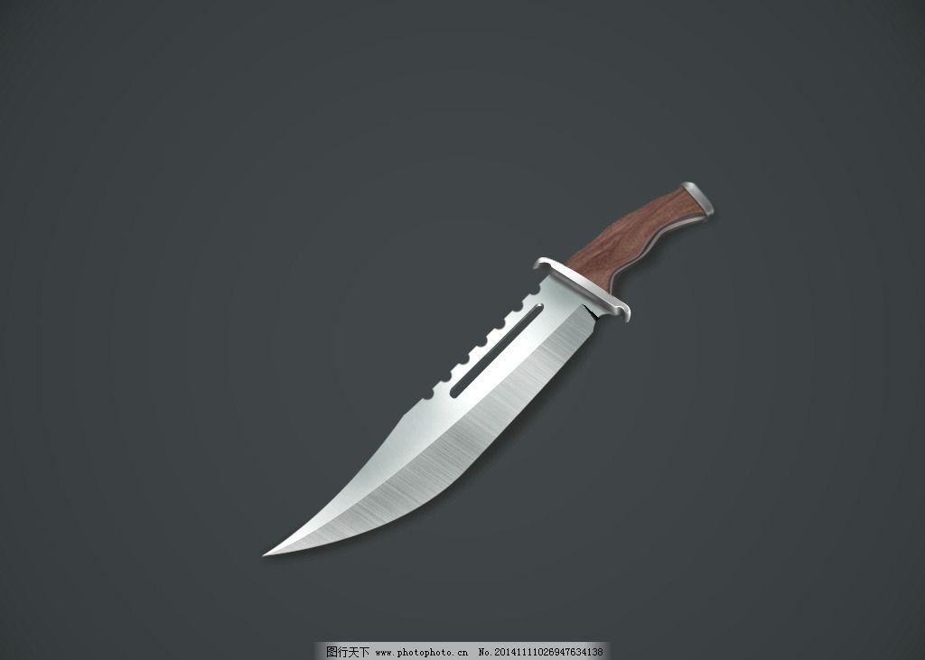 军刀 ps 设计 制作 手绘  设计 现代科技 军事武器 72dpi psd