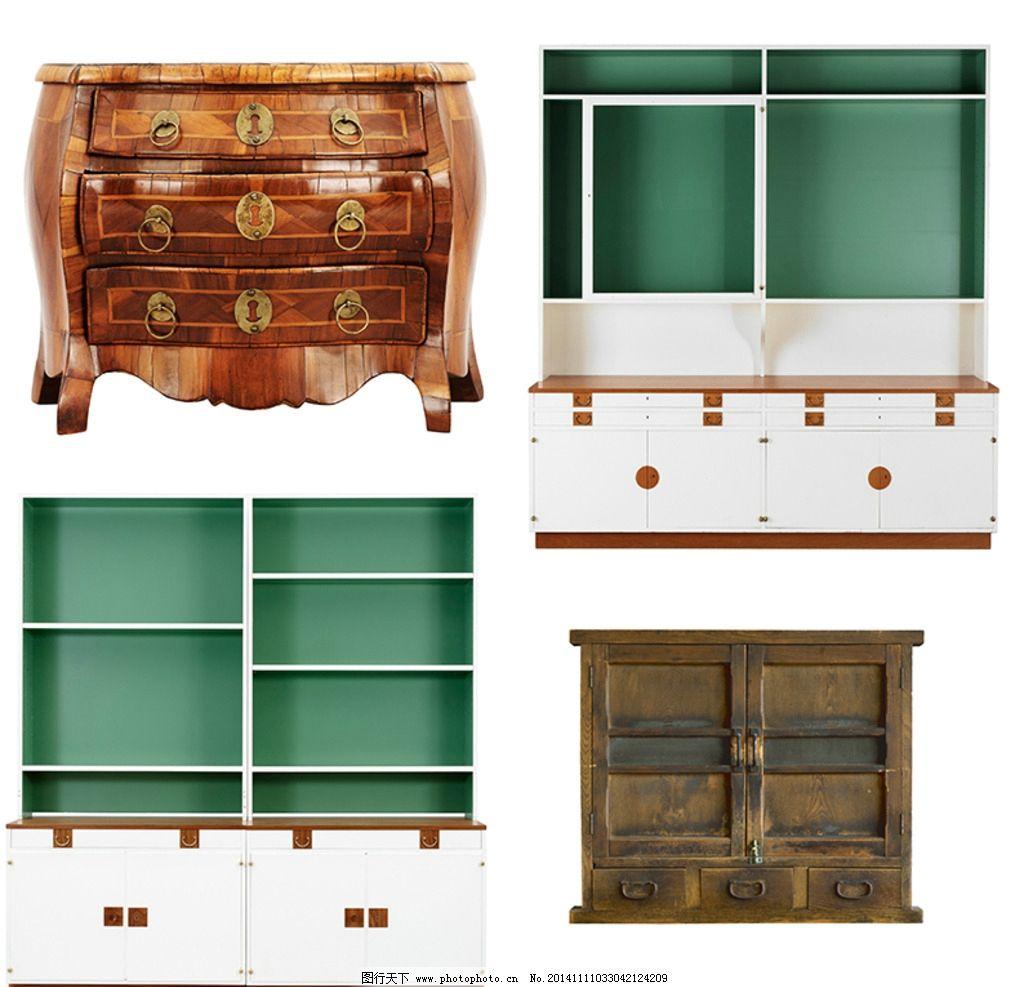 木柜素材图片