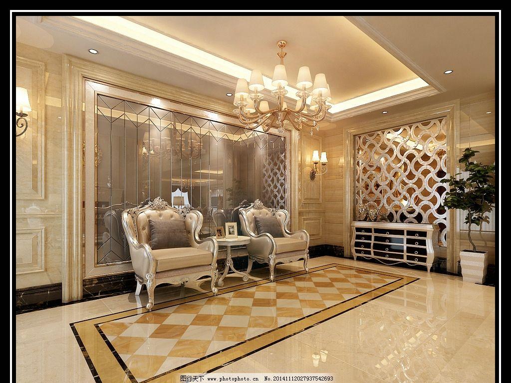别墅效果图设计 欧式图片