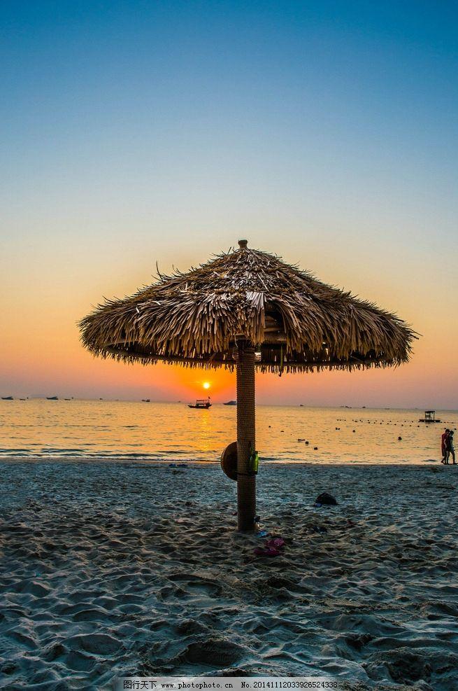 秦皇岛 风景 风光 唯美 清新 意境 自然 大海 海边 海 夕阳 落日 日落