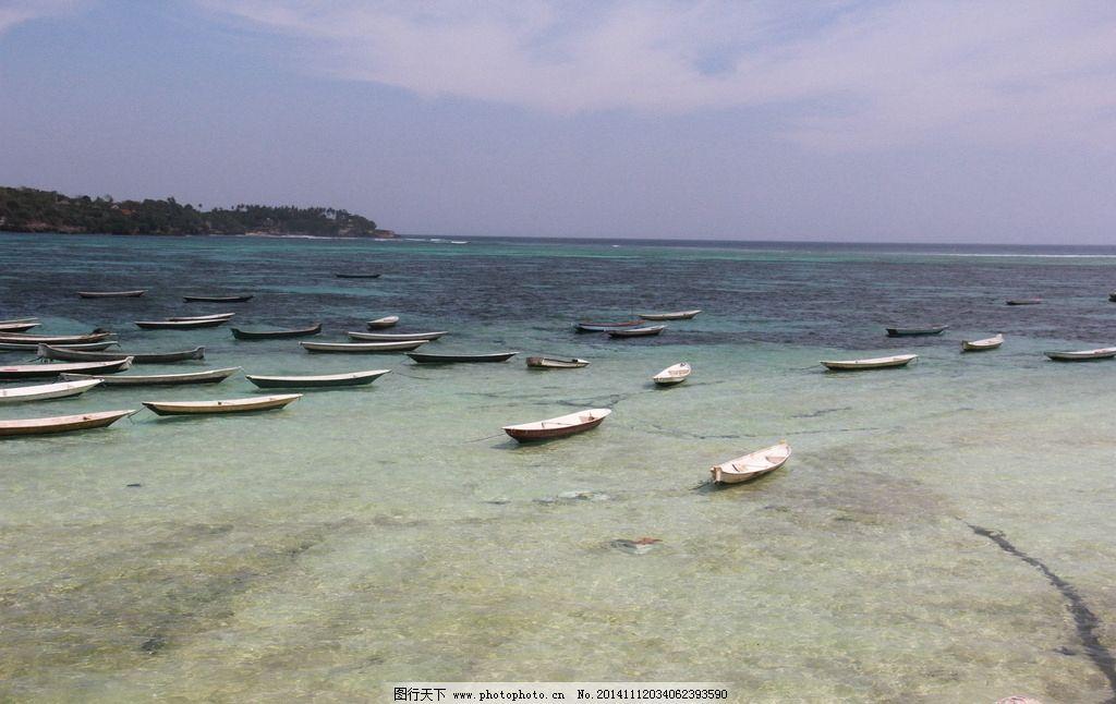 海上小船 印尼风光 巴厘岛风光 大海 海水 摄影 国外旅游