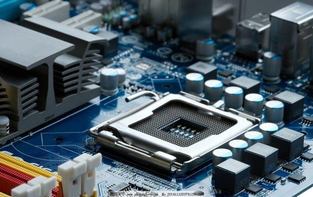 中小规模集成电路计算机图片