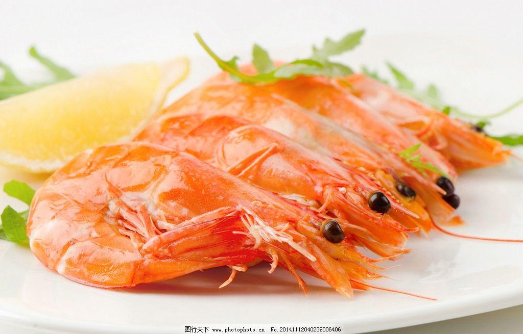 唯美大虾图片图片