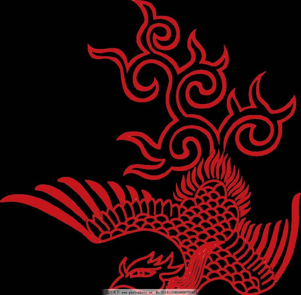 传统艺术 剪纸 红色 素材 剪纸艺术 手剪画 设计 文化艺术 传统文化 5