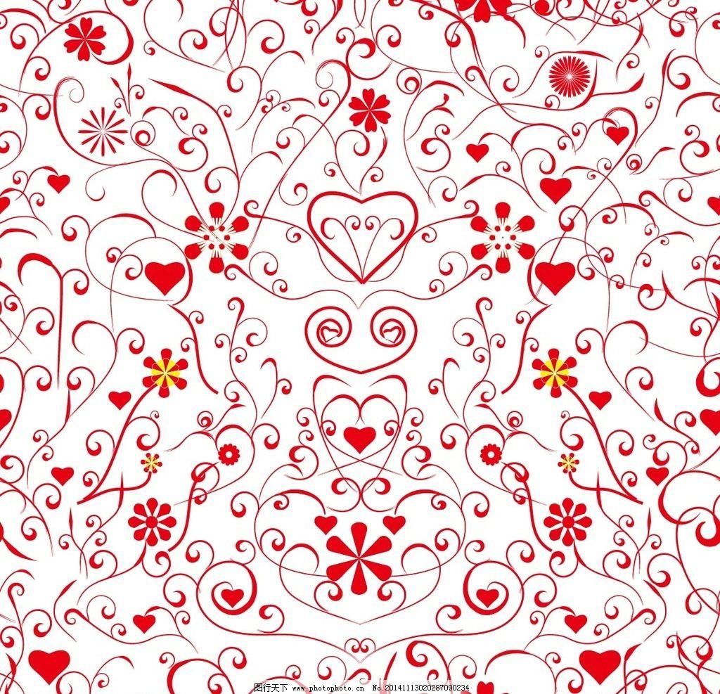 布纹 花布 鲜花布纹 手绘鲜花 鲜花图案 布料 墙纸 纹理 贴图
