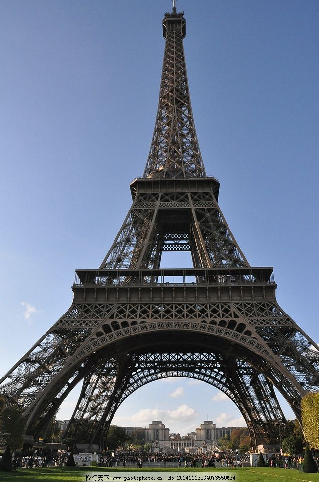 法国 埃菲尔铁塔图片
