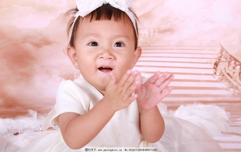 一岁宝宝写真图片,宝贝 儿童 摄影 可爱 天使 人物-图