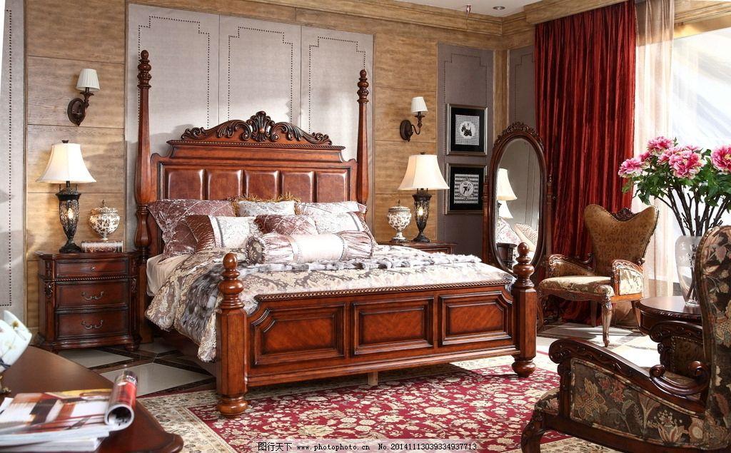 欧式新款床图片