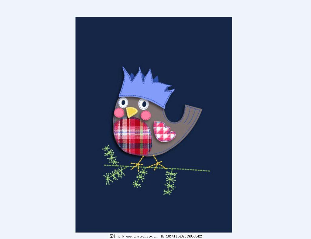 矢量卡通小鸟图片
