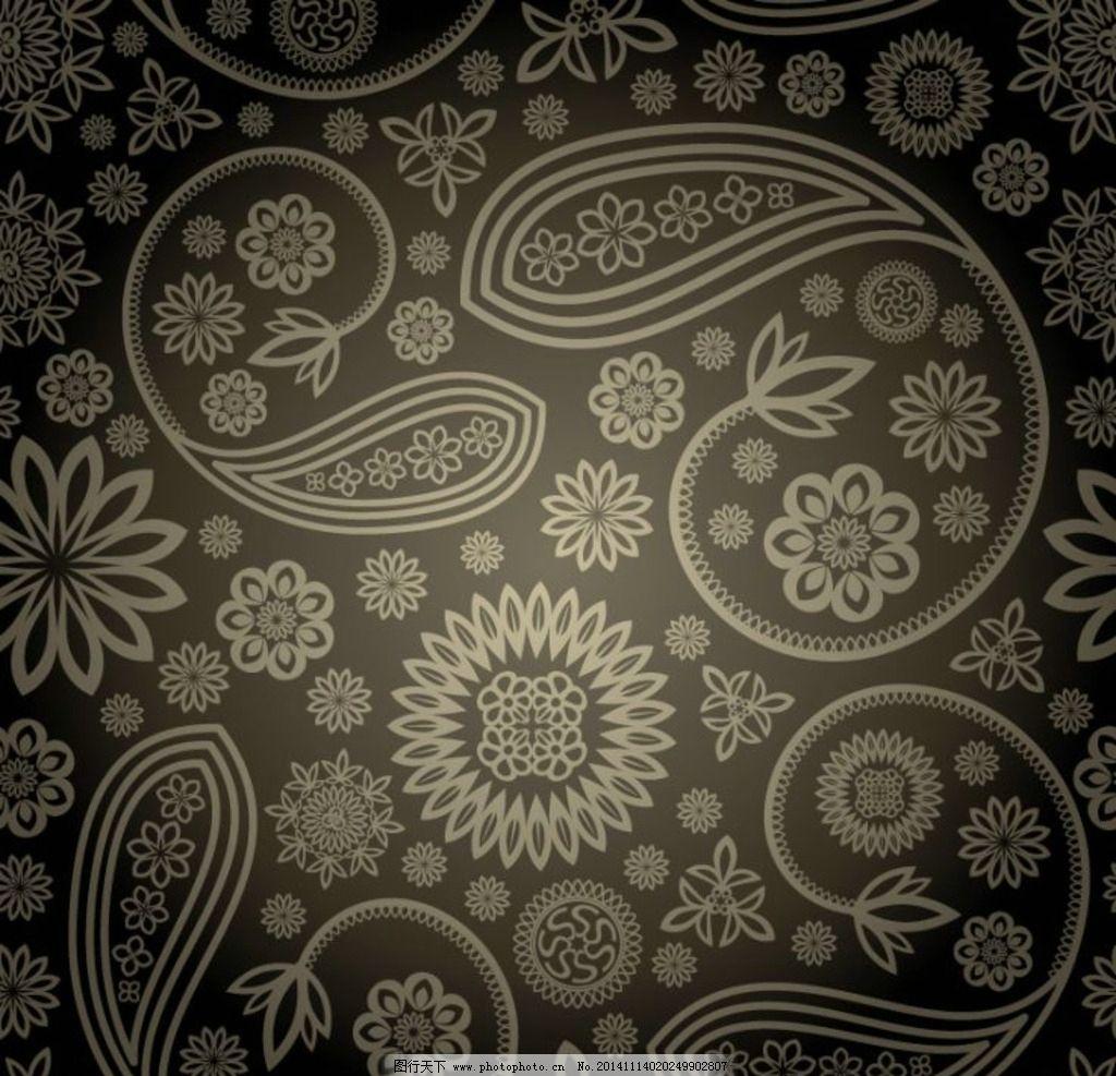 欧式花纹素材 花边花纹 古典花纹 欧式底纹 中国风底纹 矢量底纹 cdr