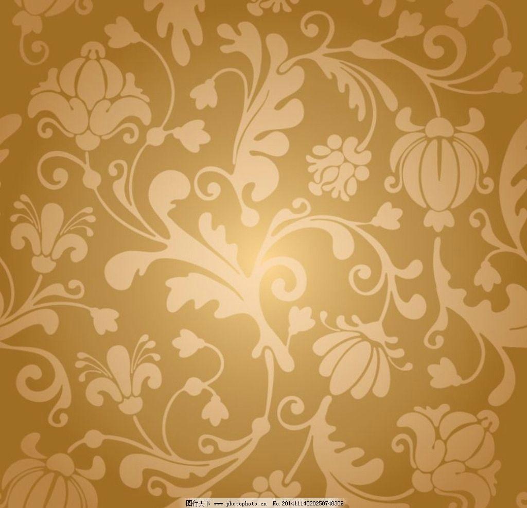 欧式花纹素材图片