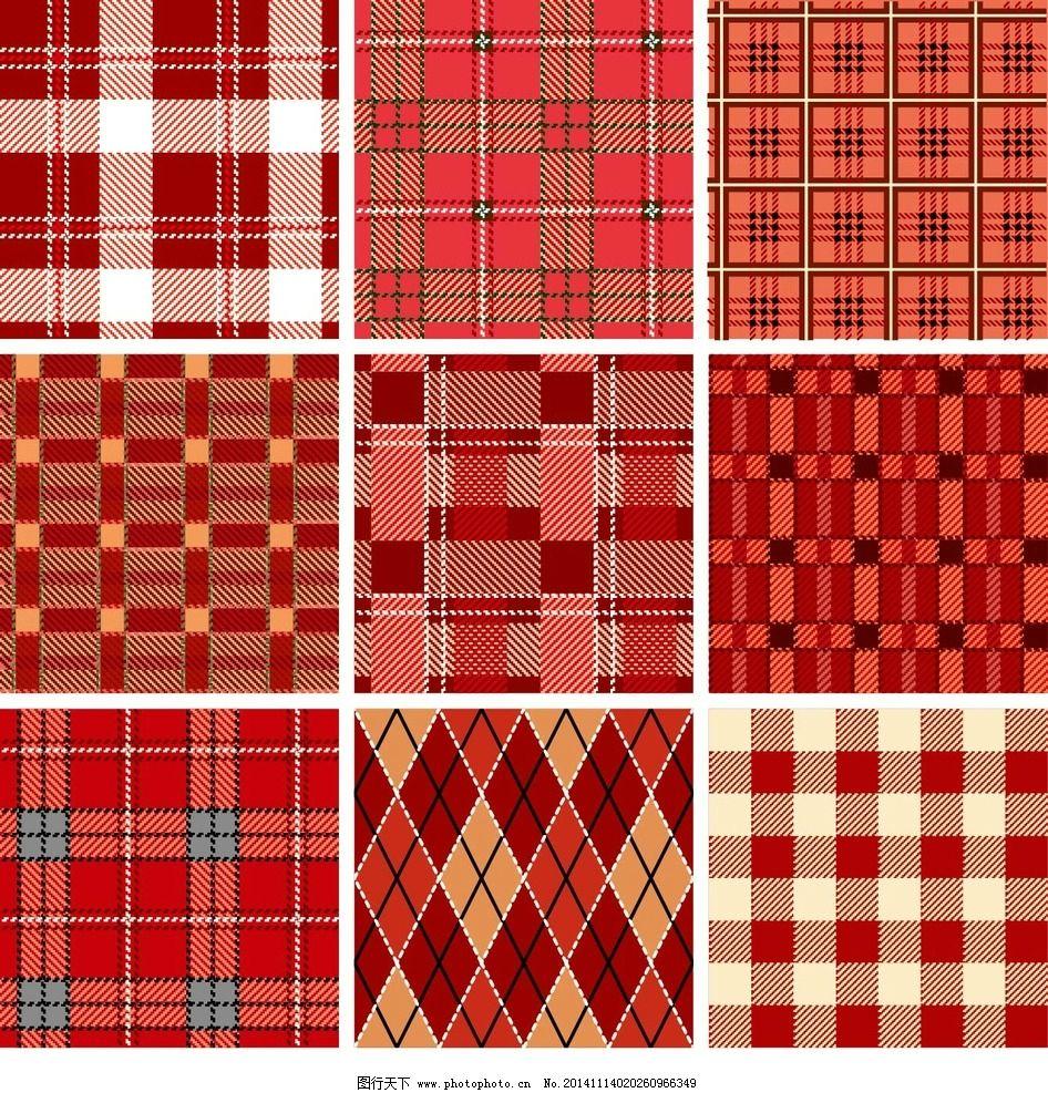 欧式古典红色底纹素材图片