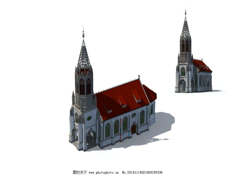 模型 欧式      模型 建筑