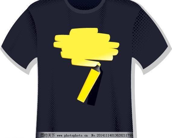 t恤图案 潮流元素 创意设计 绘画 时尚 手绘插画 休闲 广告设计