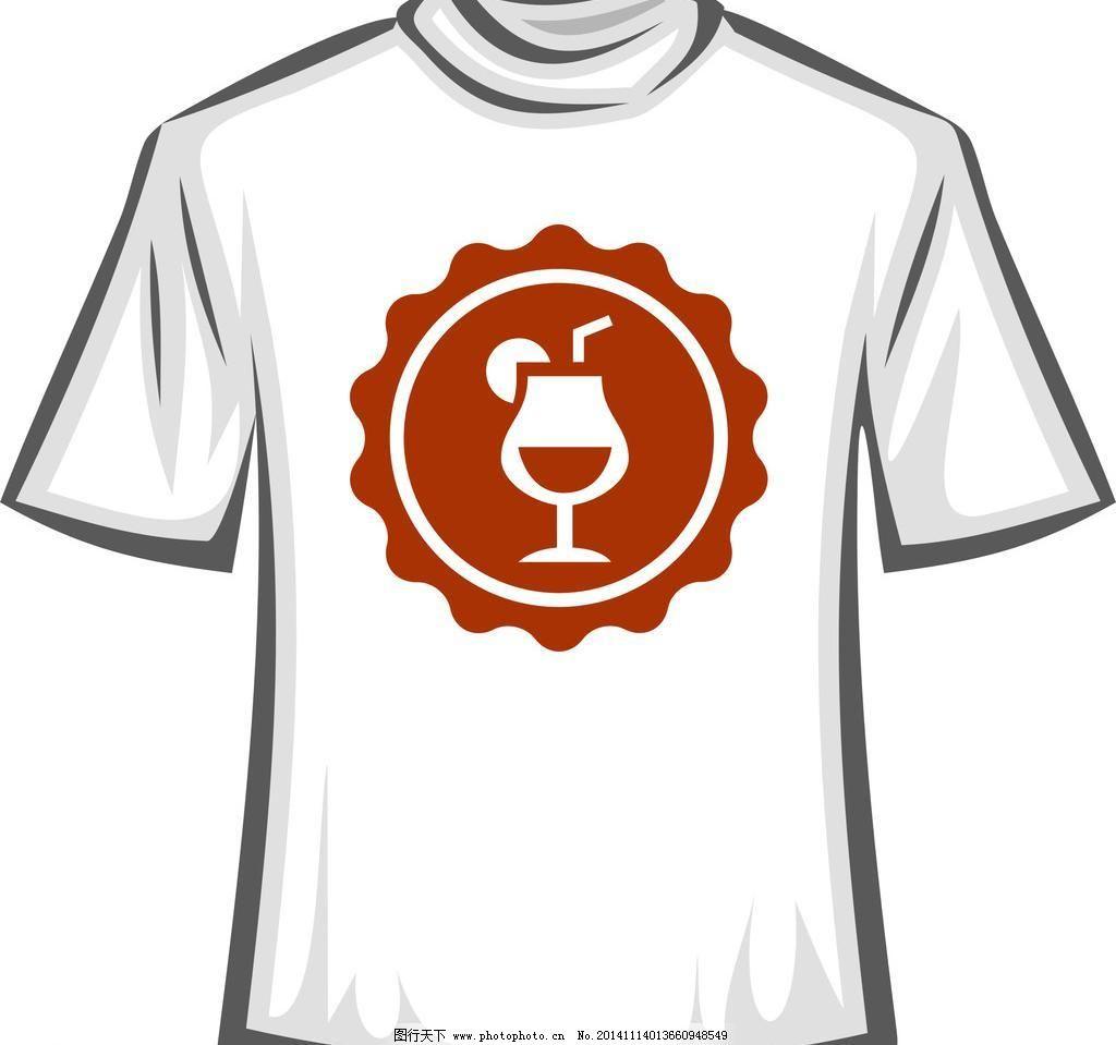 t恤衫设计 服装设计 广告设计 矢量cdr 设计 cdr 卡通t恤 服装设计图