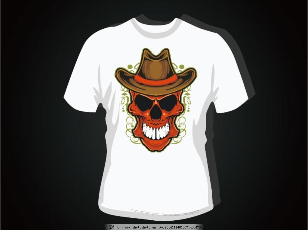 图案 时尚 手绘插画 休闲t恤 潮流元素 创意设计 t恤衫模板 服装设计