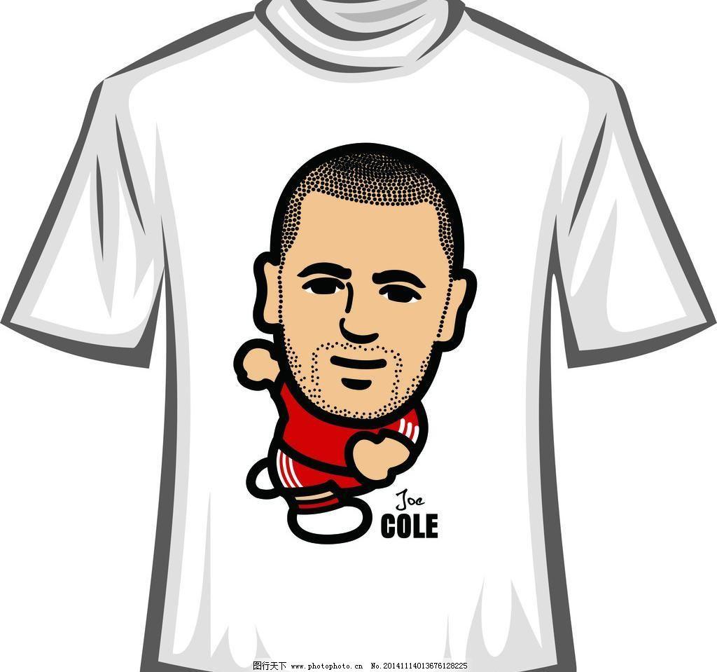 设计矢量素材 儿童卡通t恤 t恤衫 时尚休闲 潮流元素 潮流卡通 t恤